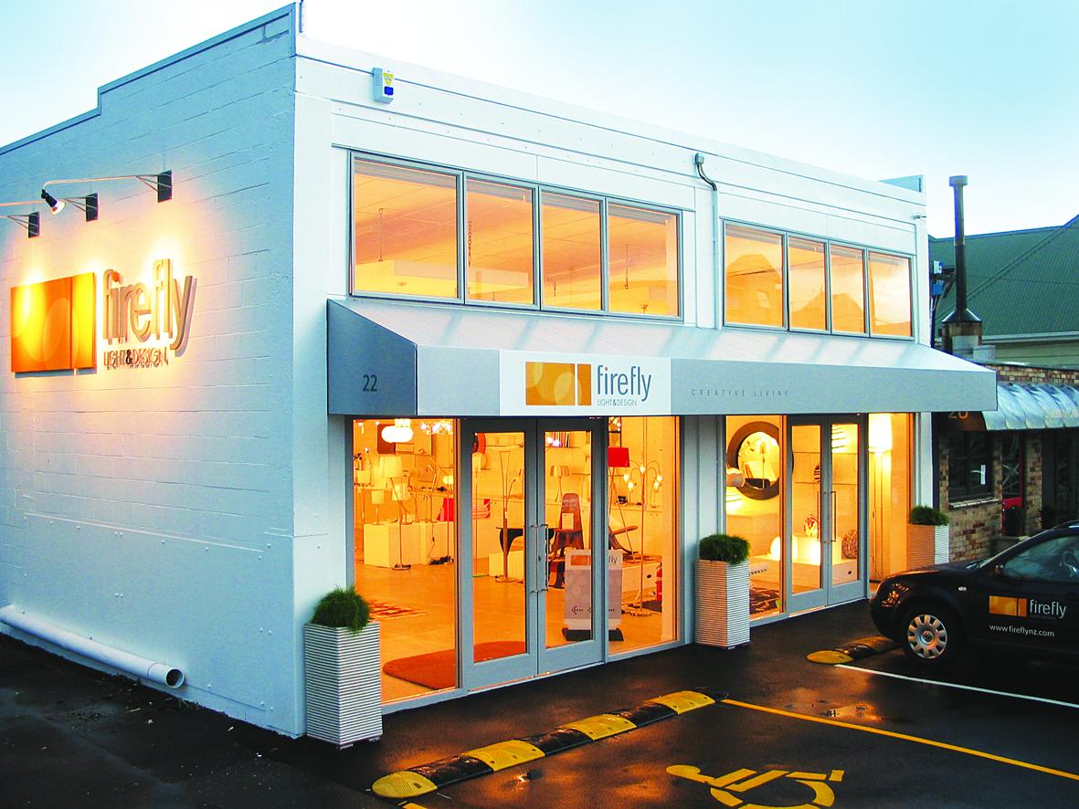 Firefly Showroom 22 Wynyard Street