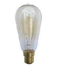 Carbon filament bulb