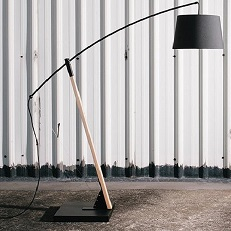 Archer floor lamp modern
