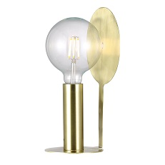 Dean Disc Table Light by Nordlux - brass finish