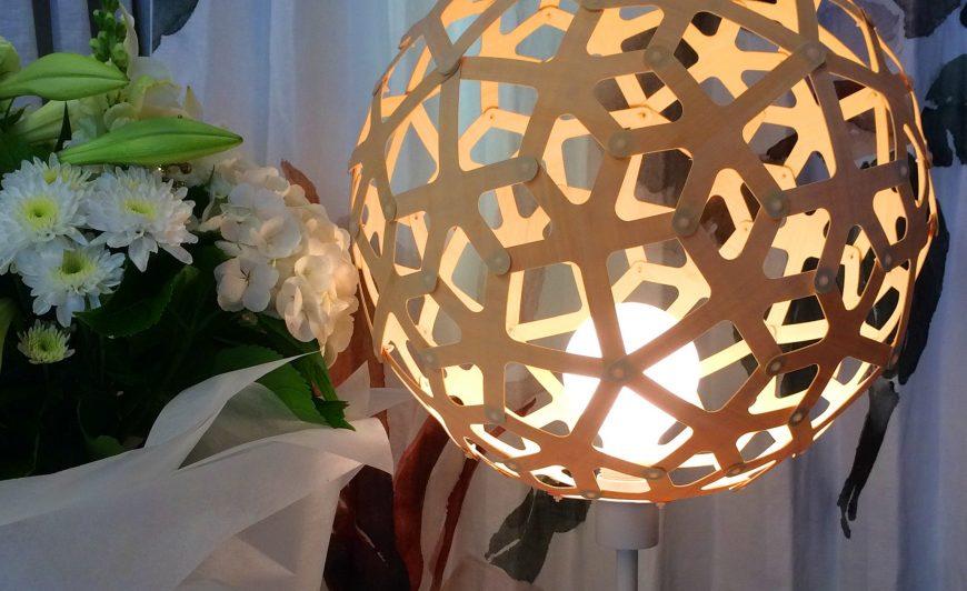 David Trubridge Coral Table Lamp - White