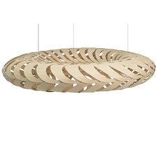 Maru 1400mm Natural Bamboo by David Trubridge